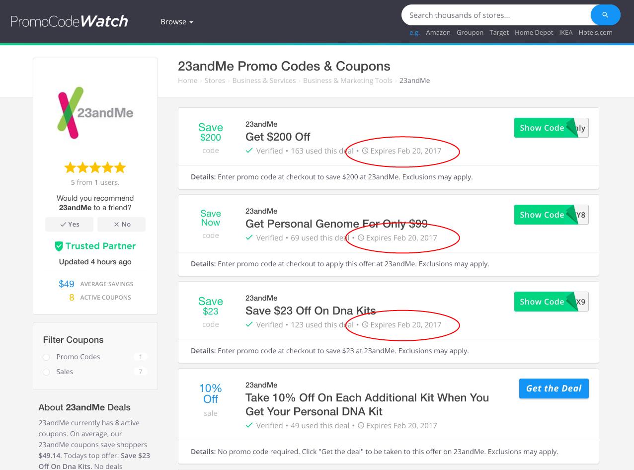 promocodewatch inside a blackhat coupon affiliate site