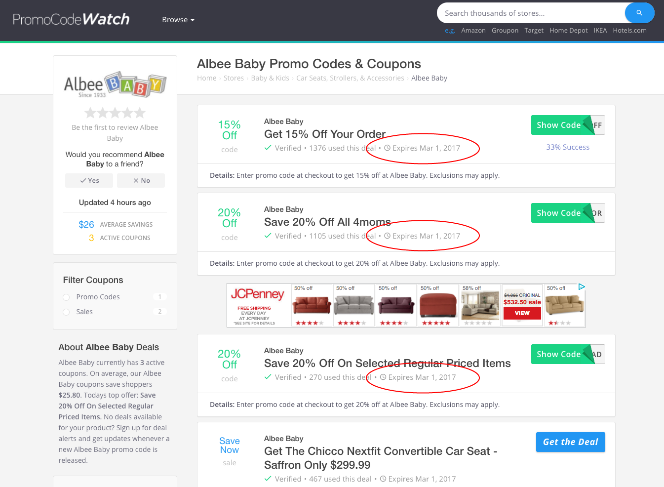 PromoCodeWatch: UI Cloaking & Deceptive Content Documented