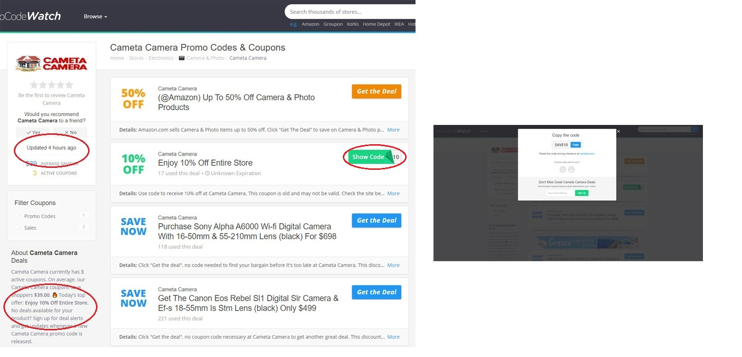 How Thin Coupon Affiliate Sites Post Fake Coupons to Earn Ad